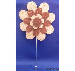 Brooch (LC-582 Model) from the manufacturer Luisa Cork in category Cork Brooches and Pins